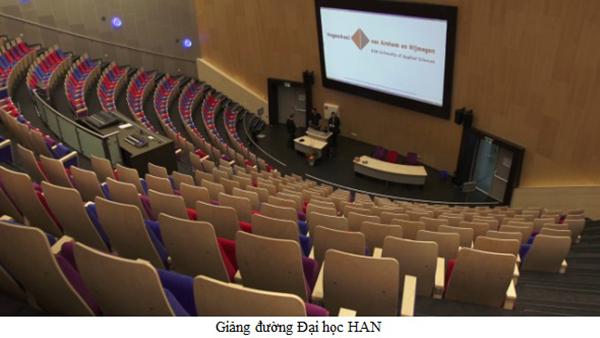 Hội thảo du học Hà Lan trường Đại học Khoa học Ứng dụng số 1