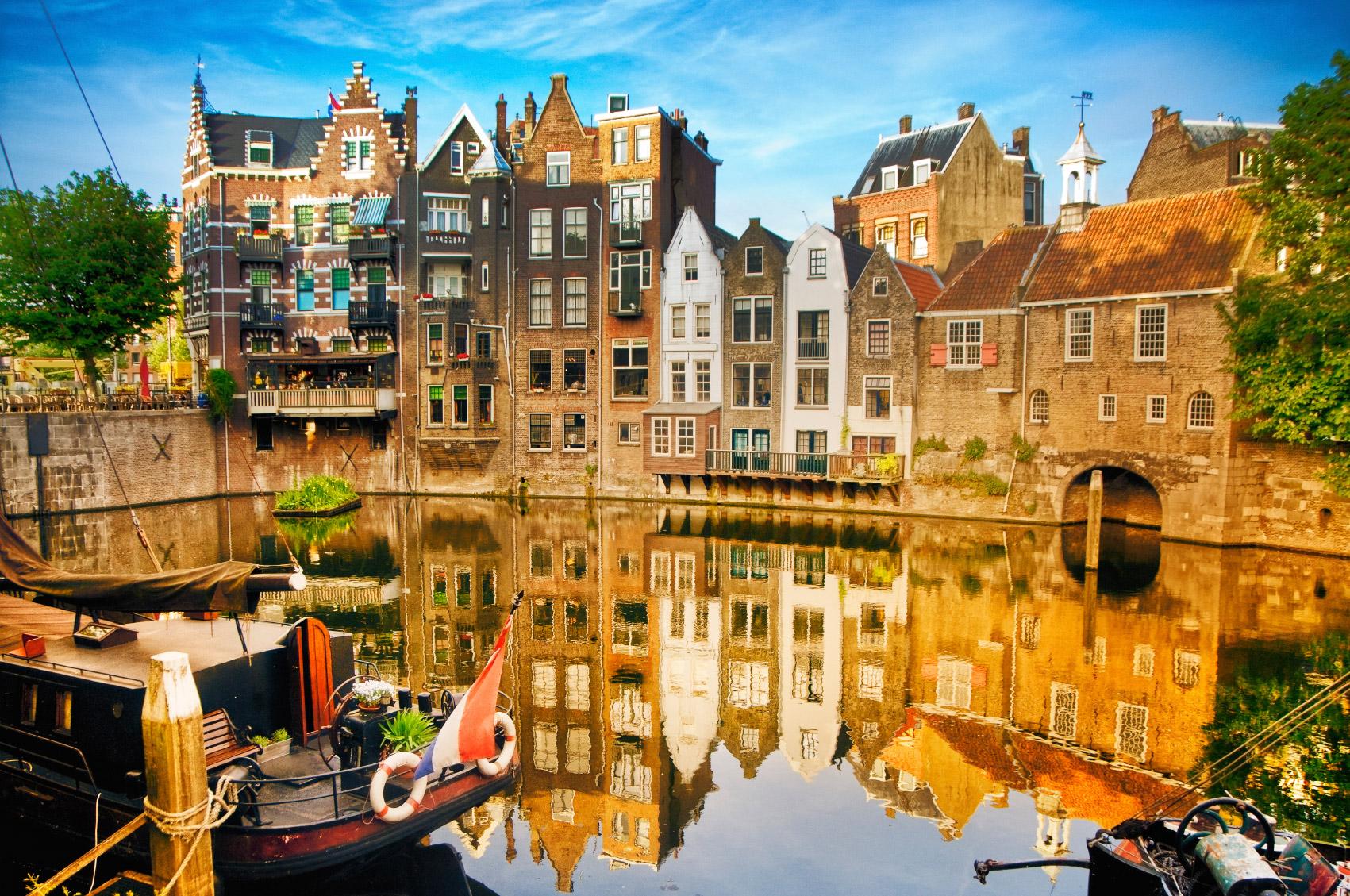 Điểm nhấn từ thành phố Rotterdam