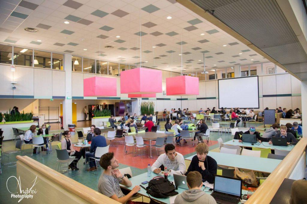 Fontys được trang bị đầy đủ phục vụ cho cuộc sống học tập của sinh viên