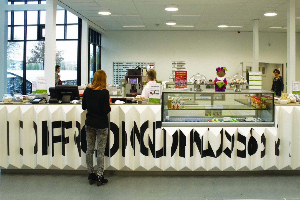 Môi trường kiến trúc hiện đại bên trong Đại học Fontys