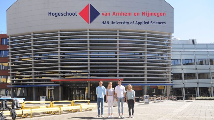 Đại học HAN dành tặng chương trình học bổng nào cho sinh viên quốc tế?
